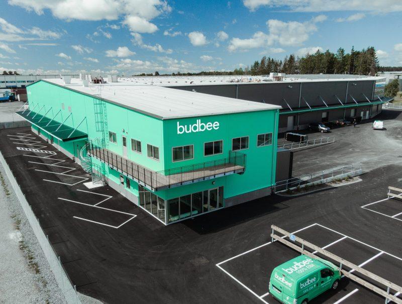 Green terminal Budbee