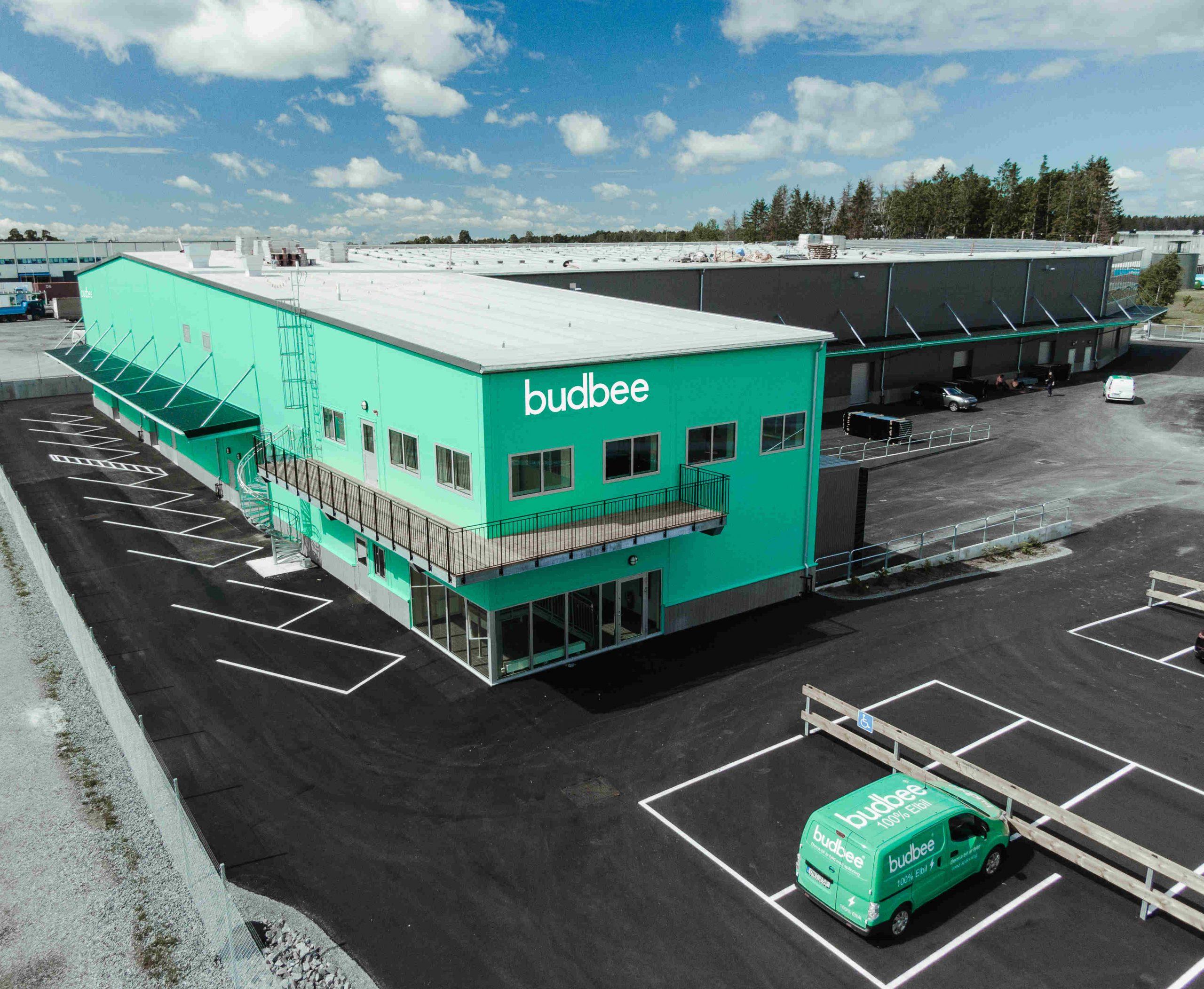 Grön terminal Budbee