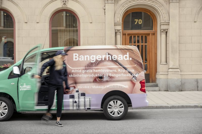 budbee and bangerhead car